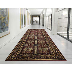 Istanbul 5 Rug Burgundy Red