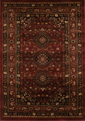 Istanbul 6 Rug Burgundy Red
