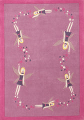 Gorgeous Girls Pink Fairy Rug