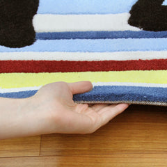 Kidding Around Striped Rug - Bright Colours