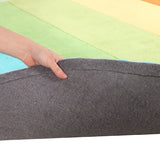 Kidding Around Rainbow Rug - Green
