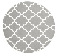 Kidding Around Trellis Design Rug - Grey