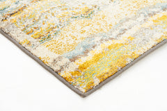 Stunning Monet Inspired Yellow Rug