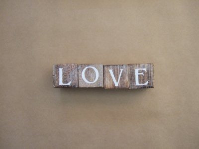 Love Blocks Natural