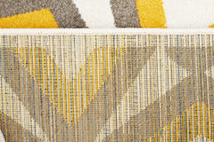 Marquee 302 Rug - Grey Yellow