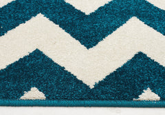 Marquee 305 Rug - Peacock Blue