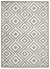 Indoor Outdoor Matrix Rug Grey