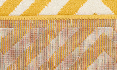 Indoor Outdoor Matrix Rug Yellow