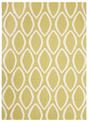 Nomad 20 Flat Weave Rug -Yellow