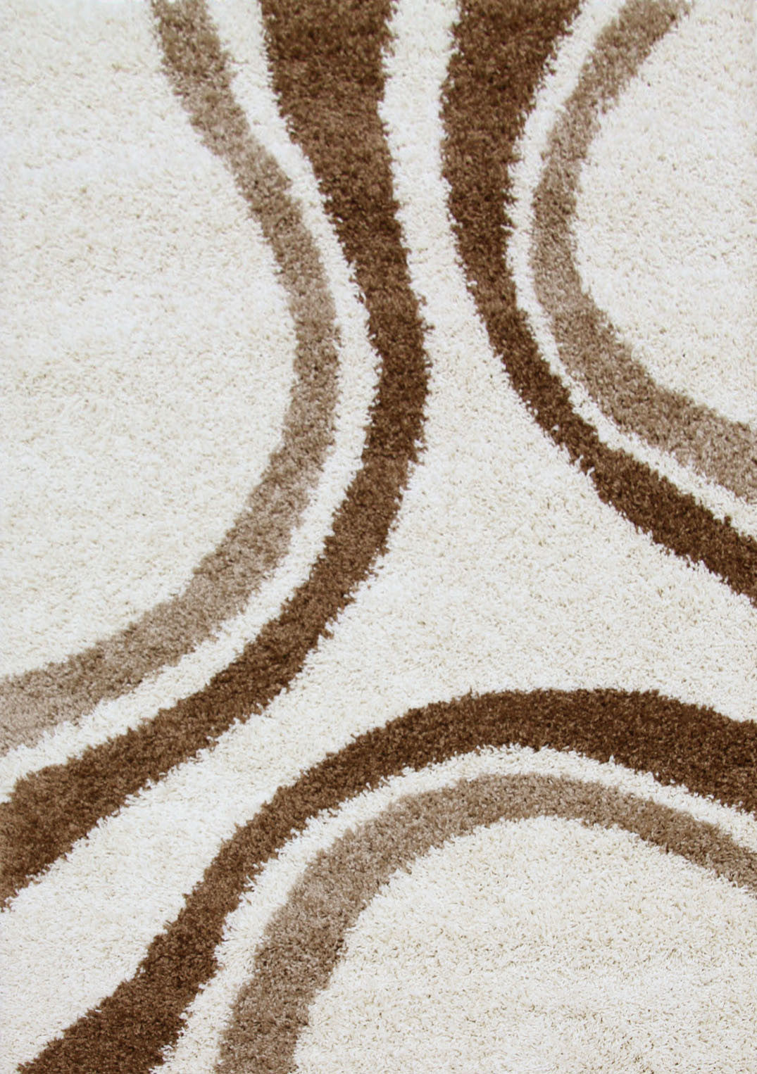 Notes 3 Shaggy Rug - Ivory