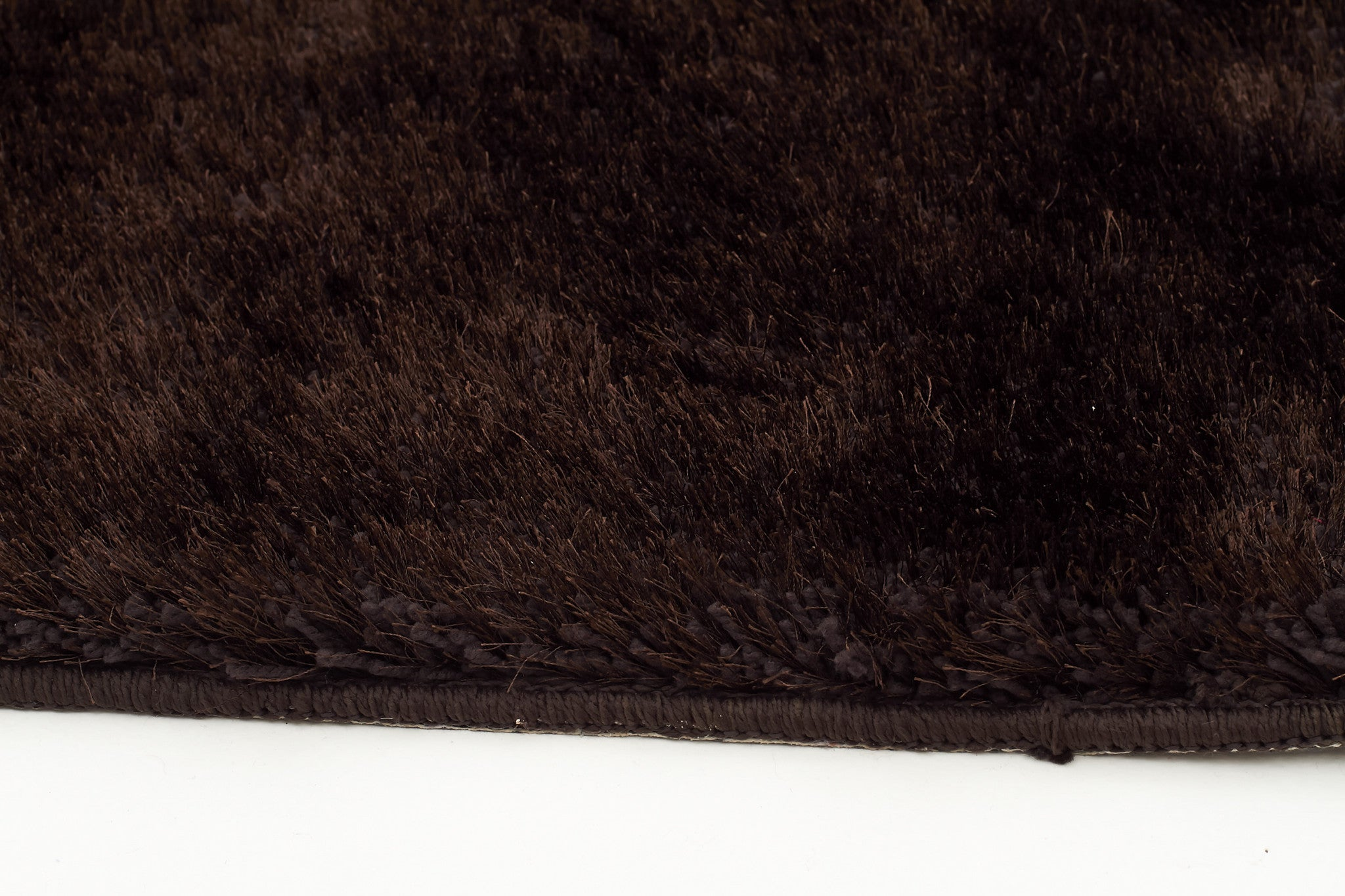 Oslo Shaggy Rug - Chocolate