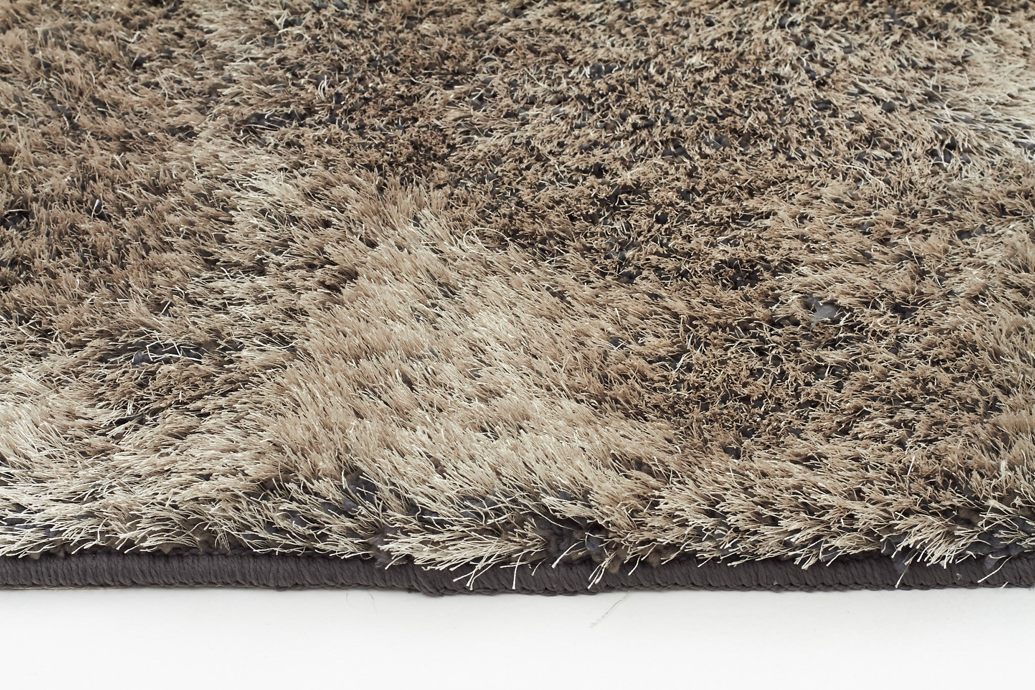 Oslo Shaggy Rug - Silver Taupe
