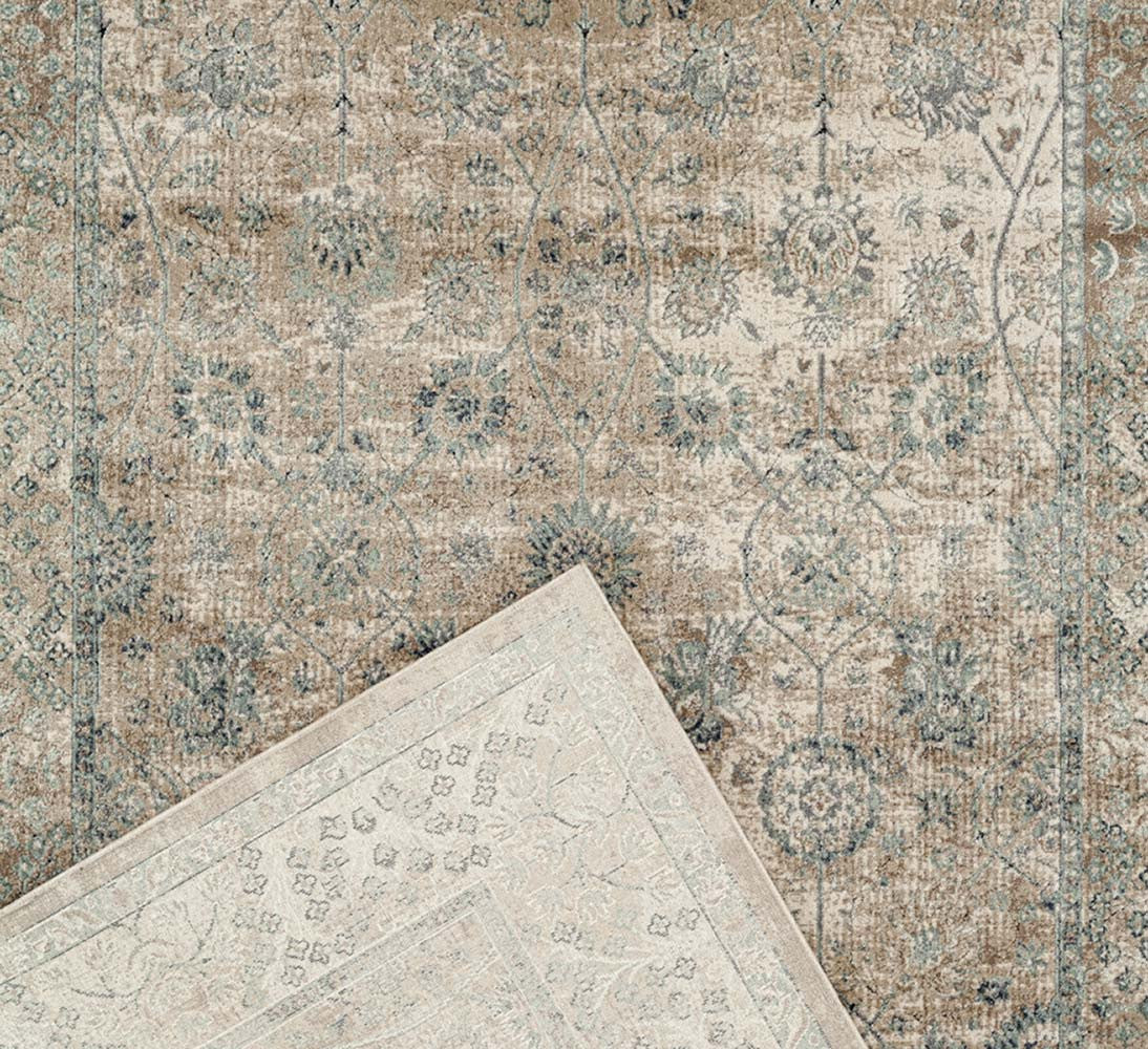 Providence Vine Traditional Rug - Cream