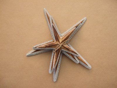 Set of 3 Starfish Natural