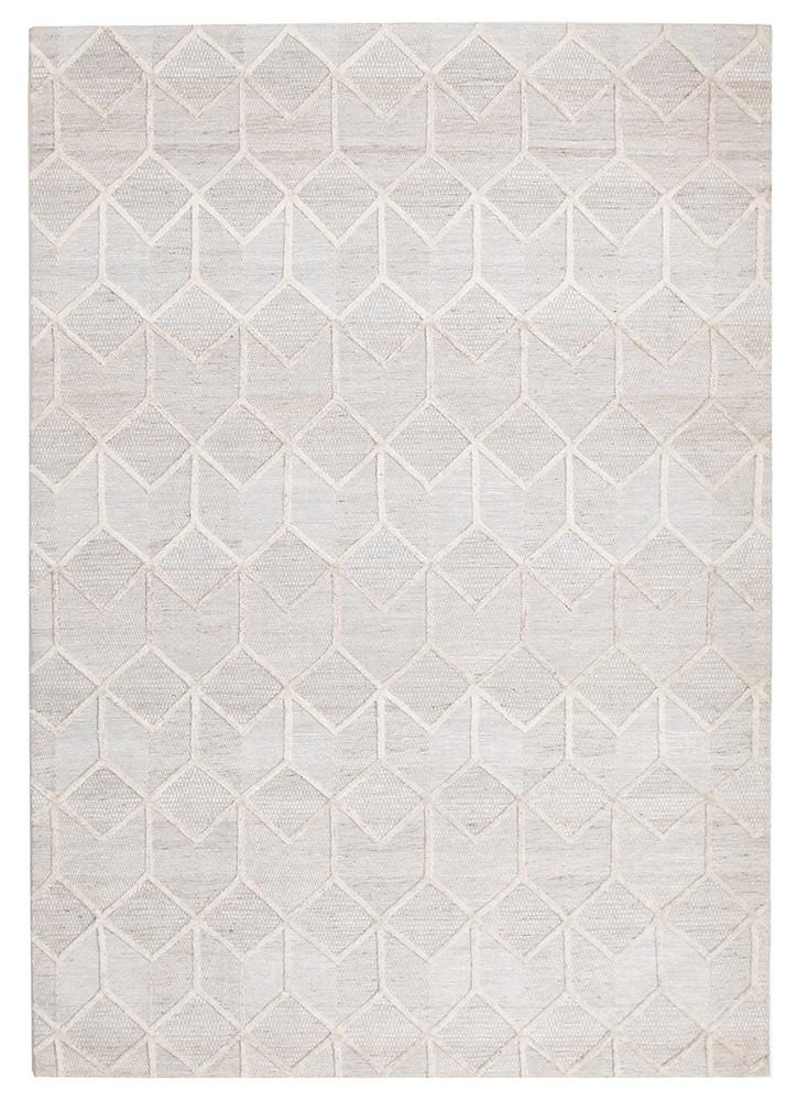 Visions Grey Brush Modern Rug