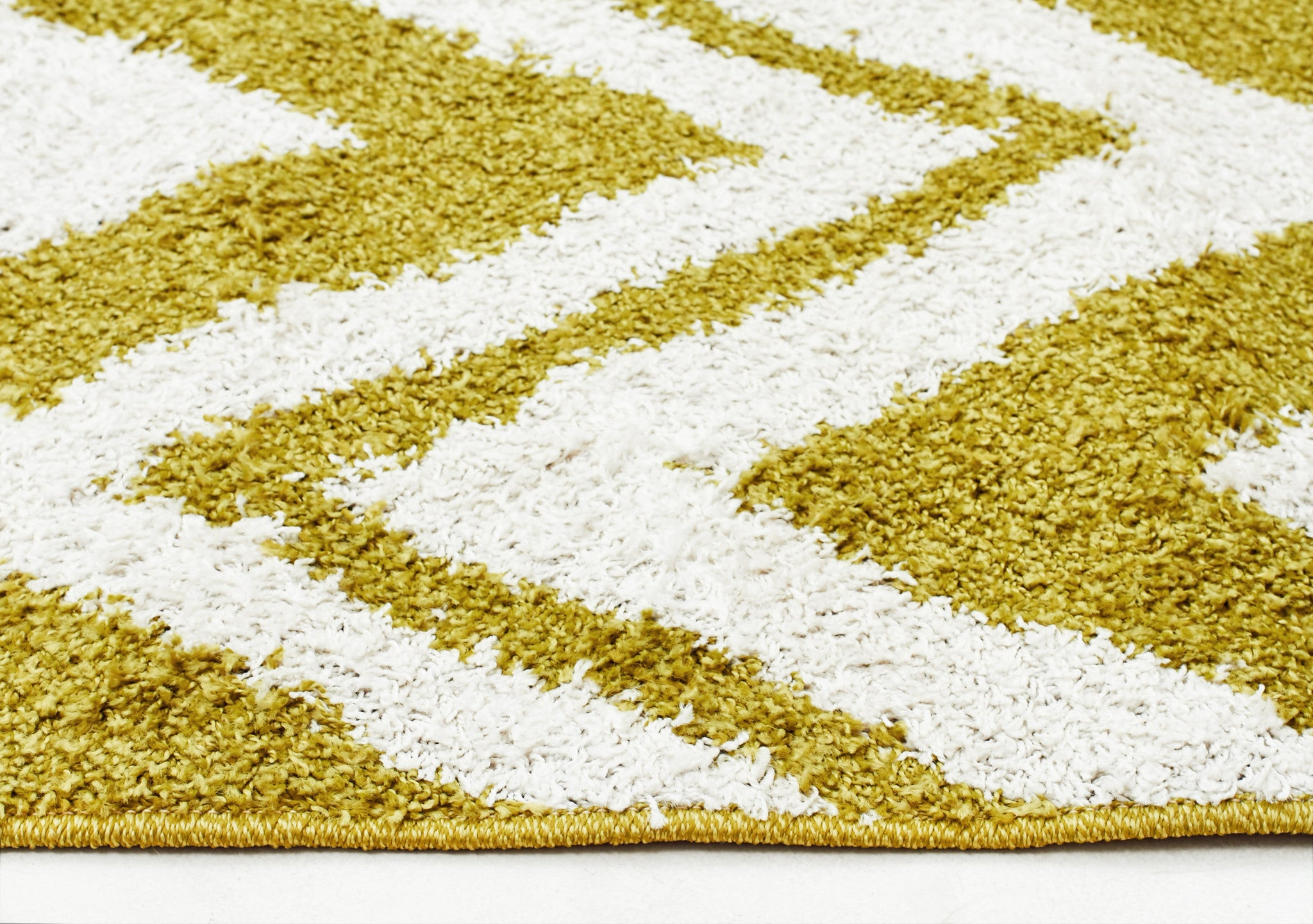Chevy Shag Rug Lime