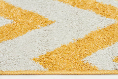 Viva 805 Shaggy Rug - Yellow