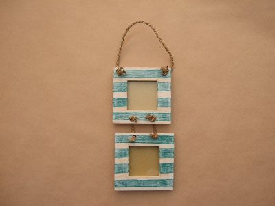 Wooden Double Picture Frame