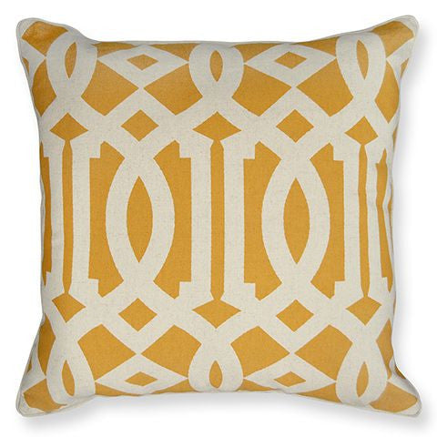 Latifa Yellow Cushion