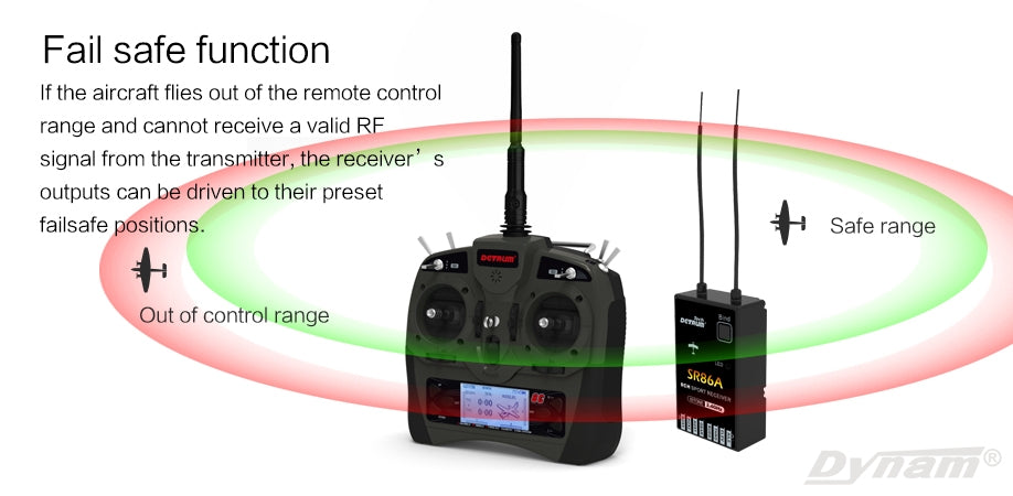 8cgyro2 detrum gavin 8c 8 channel transmitter with sr86a receiver gyro dy  at aneh.co