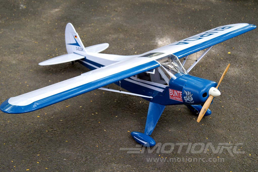 Two Piece Wing with Aluminum Joiner for Easy Transportation