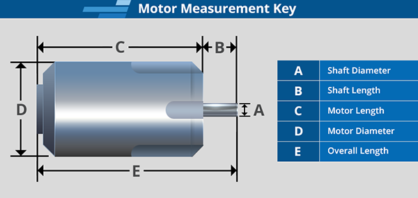Brushless Motor Measurement Key