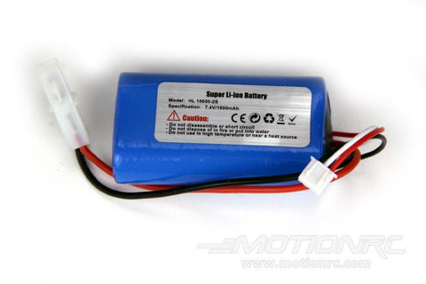 2S 7.4V 1800mAh Li-ion Battery w/ Tamiya Connector - Small Case for Heng Long 1/16 Scale Tanks HLG6024-002