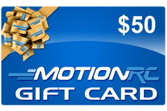 $50 Motion RC Gift Card GIFTCARD50