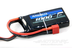 Admiral 1000mAh 2S 7.4V 30C LiPo Battery with T Connector EPR10002