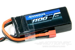 Admiral 1100mAh 3S 11.1V 25C LiPo Battery with T Connector EPR11003