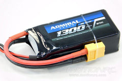 Admiral 1300mAh 3S 11.1V 25C LiPo Battery with XT60 Connector EPR13003X6