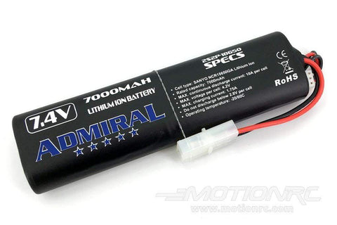 Admiral 7000mAh 2S 7.4V Li-ion Battery with Tamiya Connector ADM6024-015