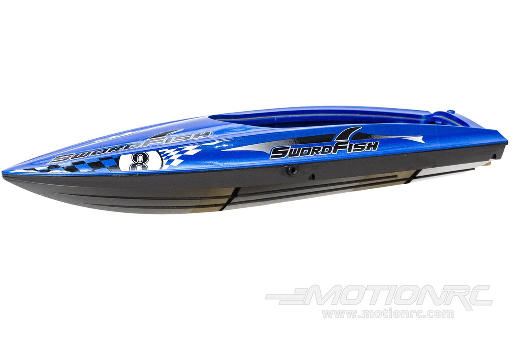 Bancroft 430mm Swordfish Mini Blue Racing Boat Hull BNC1012-101