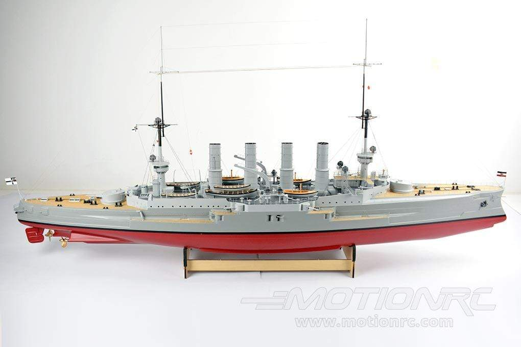 "Bancroft Scharnhorst 1/150 Scale 1475mm (58"") German Cruiser - RTR BNC1023-001"