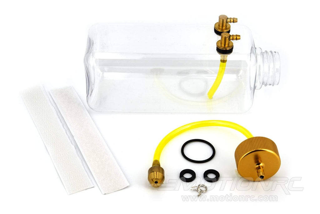 BenchCraft 500mL (17oz) Transparent Fuel Tank and Aluminum Fitting Set BCT5031-039