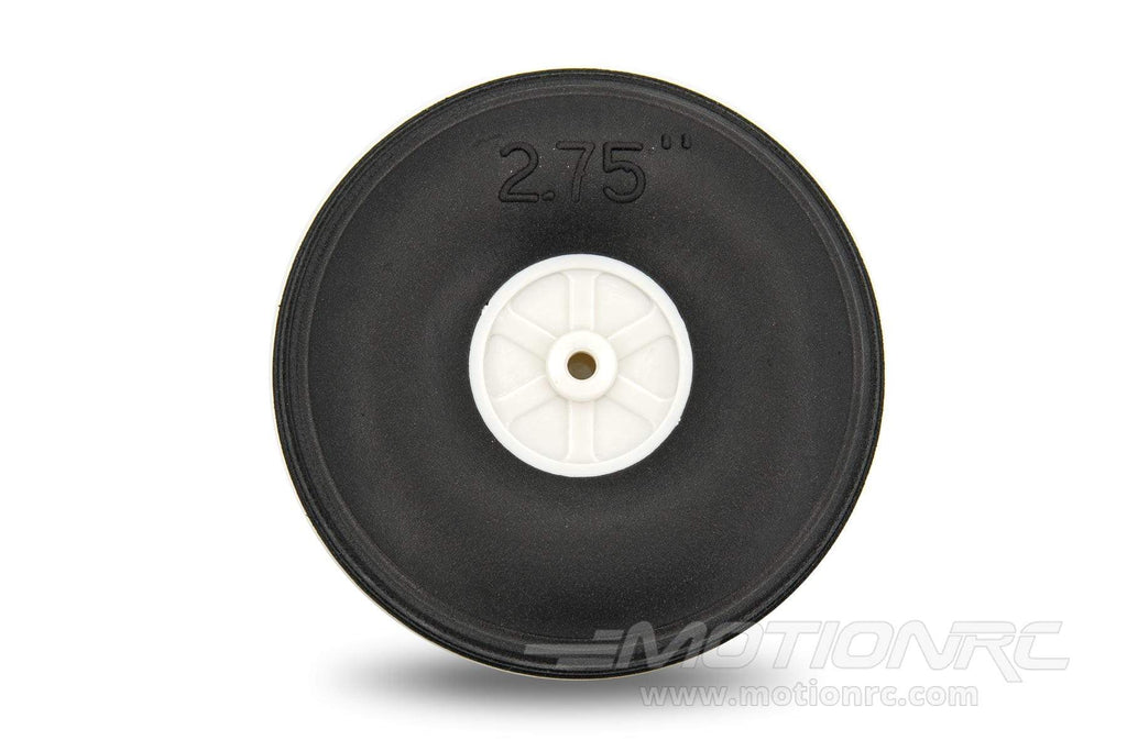 "BenchCraft 70mm (2.75"") x 26.5mm Treaded Ultra Lightweight Rubber PU Wheel for 3.1mm Axle BCT5016-078"