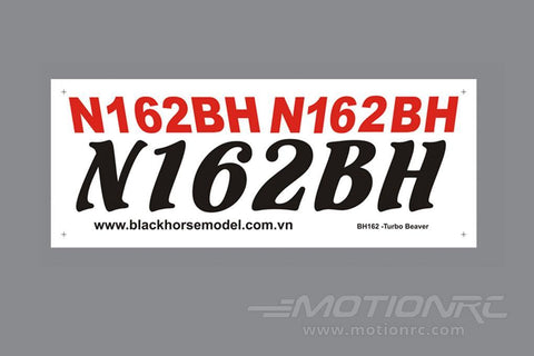 Black Horse 2250mm DHC-2 Turbo Beaver Decal Set BHBV012