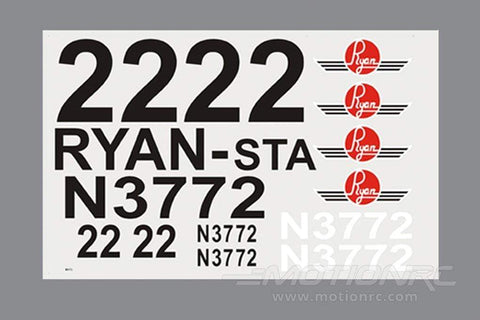 Black Horse 2350mm Ryan ST-A Special Decal Set BHRY011
