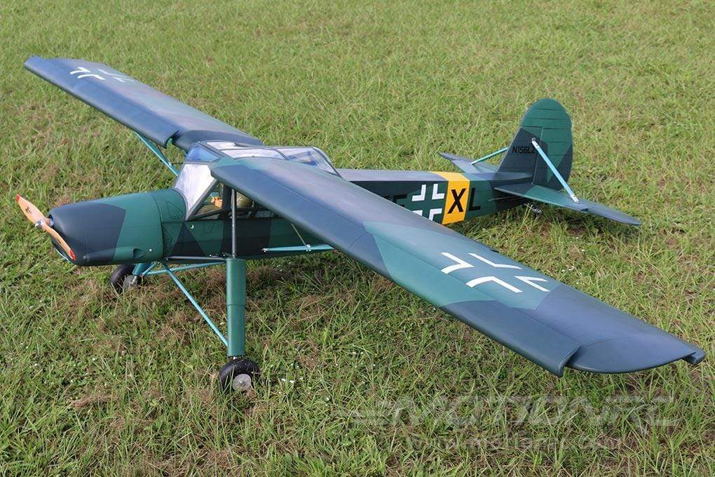 "Black Horse Fieseler Fi156C Storch 2850mm (112.2"") Wingspan - ARF BHFS000"