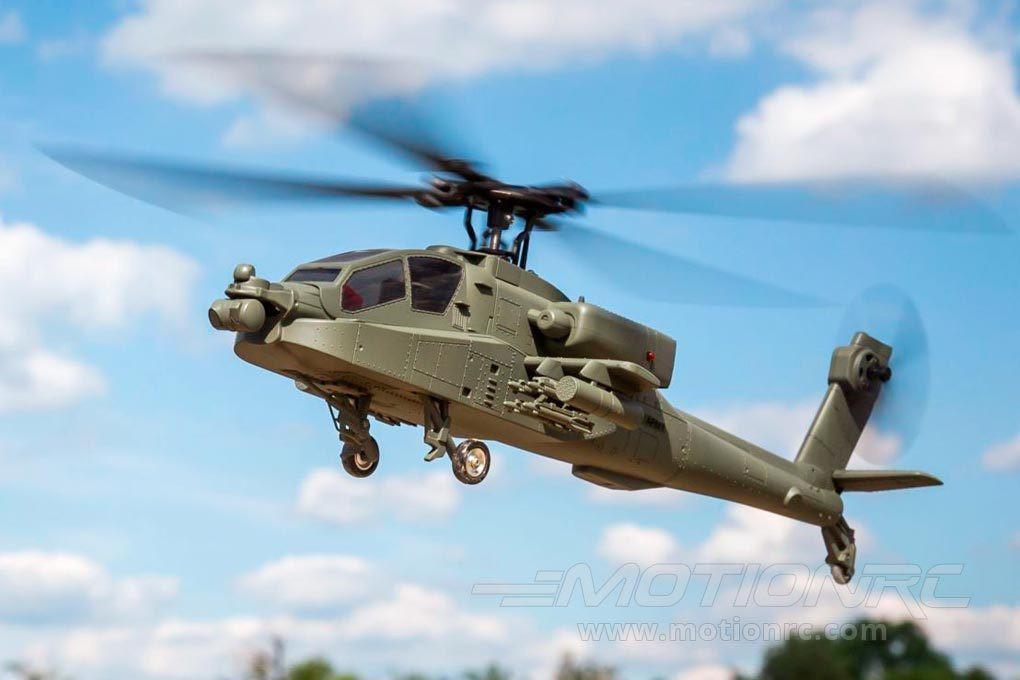 "Blade Micro AH-64 Apache with SAFE 317mm (12.5"") Rotor Diameter - RTF BLH2500"
