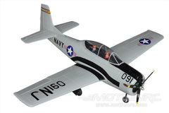 "Dynam T-28 Trojan Grey V2 1270mm (50"") Wingspan - PNP DY8940PNP-GREY"