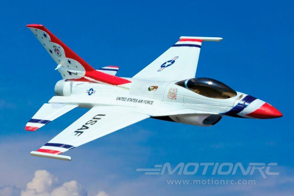 E-flite UMX F-16 BNF Basic with AS3X 28mm EDF Jet - BNF EFLU2850