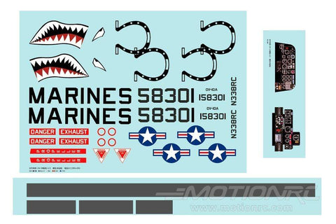 FlightLine 1400mm OV-10 Bronco Decal Sheet FLW30507