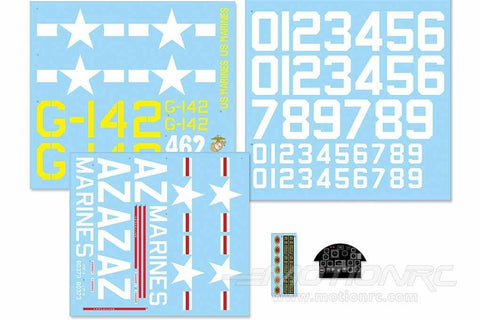 FlightLine 1600mm F7F Decal Sheet FLW302107