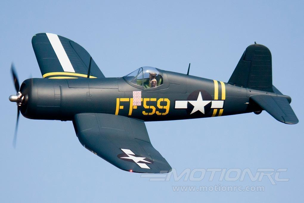 "FlightLine F4U-1D Corsair ""Bubble Top"" 1600mm (63"") Wingspan - PNP - (OPEN BOX) FLW3041P(OB)"