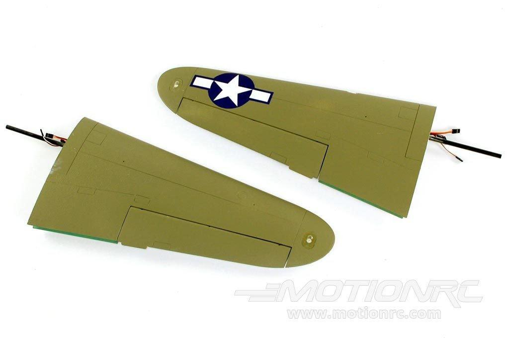 FlightLine P-38L Main Outside Wing - Green - SCRATCH AND DENT FLW301204(SD)