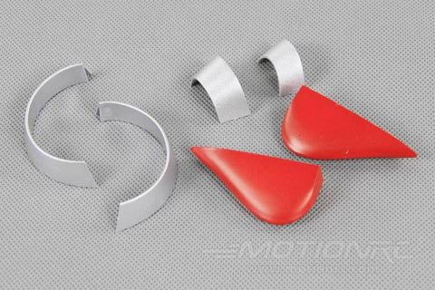 FlightLine P-38L Plastic Parts Set - Silver FLW3011098