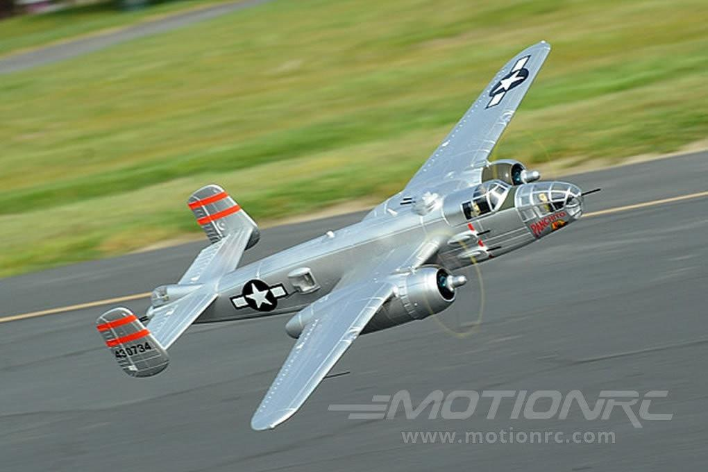 "FMS B-25 Mitchell Bomber Silver 1470mm (58"") Wingspan - PNP FMS025SILVER"
