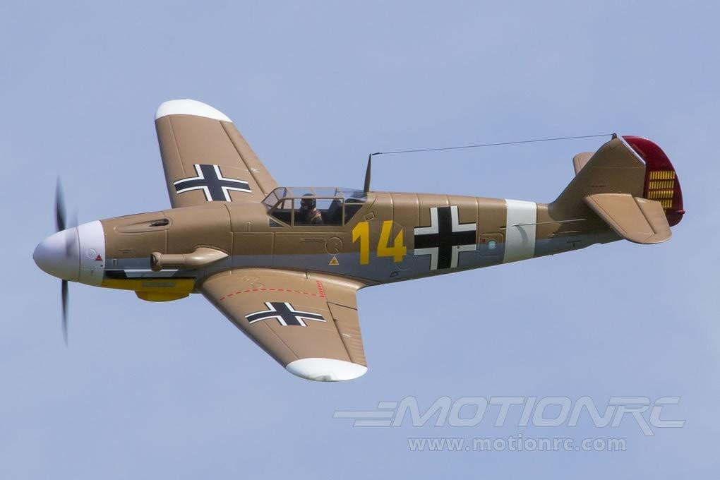 "FMS BF-109F Brown 1400mm (55"") Wingspan - PNP FMS046"