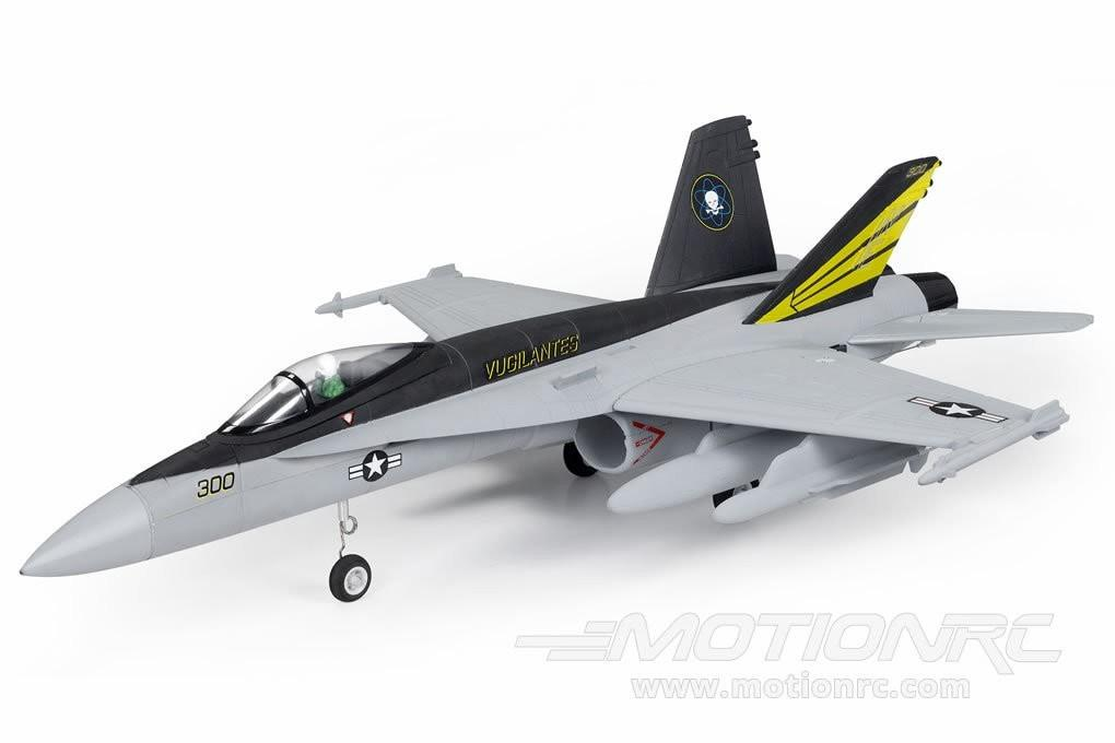 FMS F18 Grey 64mm EDF Jet V2 - PNP FMS009GREY